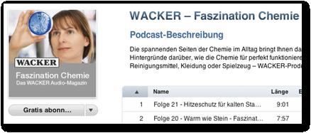 Faszination Chemie bei iTunes