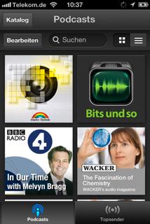 """Die neue """"Podcasts""""-App von Apple für iPad, iPhone und iPod touch"""