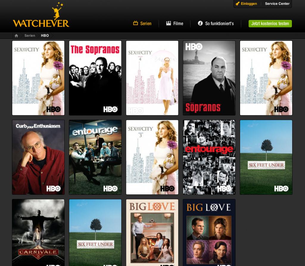 Eine eigene Kategorie für HBO-Hits